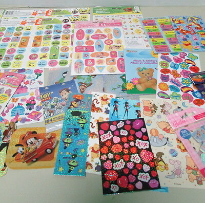 Over 1300 Stickers By SandyLion – Barbie, Scooby Doo, Toy Story, Marvel
