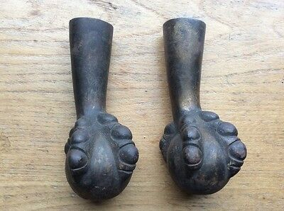 Vintage Cast Iron Eagle Claw Foot Lot