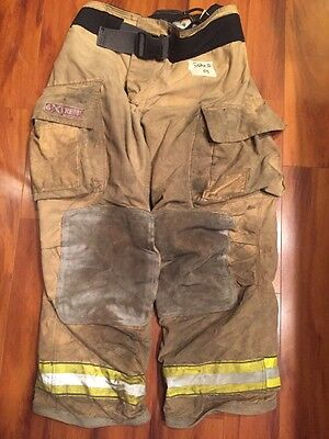 Firefighter Turnout Bunker Pants Globe 38x32 G Extreme Halloween Costume