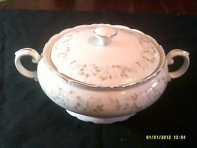 Sheffield Classic 501 Fine China Round Covered Vegetable Serving Dish Japan