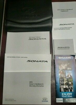 2016 Hyundai Sonata Owners Manual