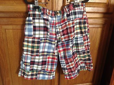 Men's Old Navy size 32 Preppy Plaid Patch Casual Shorts