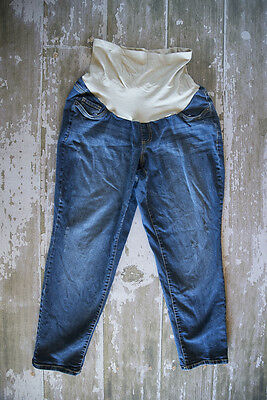 Oh Baby by Motherhood Full Panel Skinny Jeans Size 1X