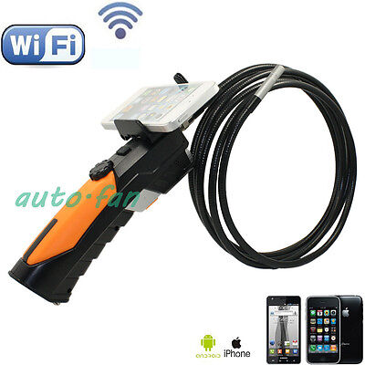 Hand-held WIFI Endoscope Inspection Snake Camera 8.5mm Borescope For IOS Android