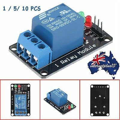 Effective Stable 1 Channel 5V Indicator Light LED Relay Module For Arduino AUU