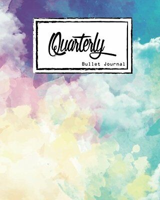 FREE 2 DAY SHIPPING: Bullet Journal: Dot Grid, Quarterly Guided,Colorful