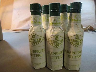 #11245 * 8 Fee Brothers Grapefruit Cocktail Bitters - 5 oz - Drink Mixology Bar