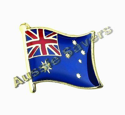 Australian (Australia) Flag Hat Pin / Badge - Brand New