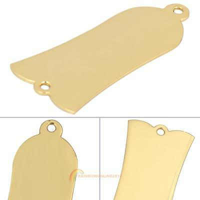 Guitars Truss Rod Cover Blank 2 Hole Fits Epiphone Les Paul LP Alloy Gold