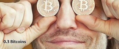 0.3 BITCOIN - Super fast transfer to your BTC wallet address after funds verify.