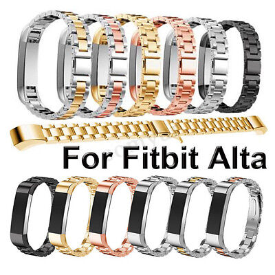 Replacement Luxury Stainless Steel Wristband Bracelet Strap For Fitbit Alta