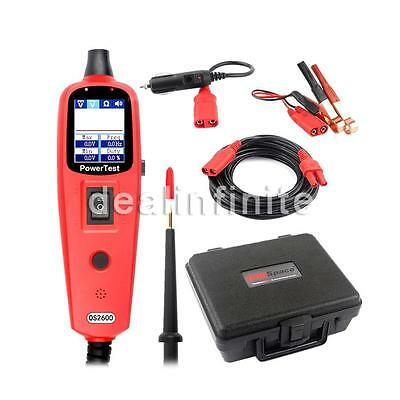 12V24V Circuit Tester AVOmeter Test PowerScan Electrical System Diagnosis OS2600