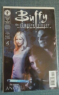 Buffy the Vampire Slayer (Part 4 of Past Lives) signed by Christopher Golden