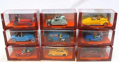 TINTIN Hergé coche a escala 1:43 car chosee your model TIN TIN :