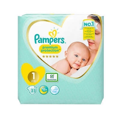 Pampers Premium Protection New Baby Größe 1 Windeln 2-5 kg Diapers 22 Stück
