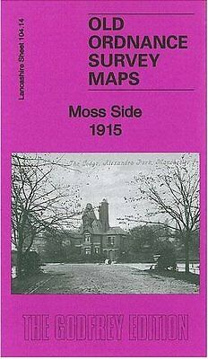 Old Ordnance Survey Map Moss Side 1915