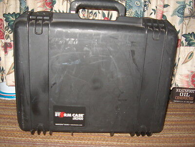 Storm Case Hardigg Im2400 Black Color (Used)  Water/crush Proof 19 X 15. 7 Deep