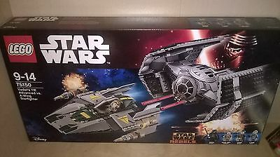 LEGO 75150 Star Wars Vader's TIE Advanced vs. A-Wing Starfighter NEW SEALED