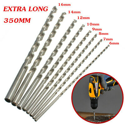 Punte trapano lunghe Extra Long HSS 300mm 6-16mm Diameter Auger twist drill bit