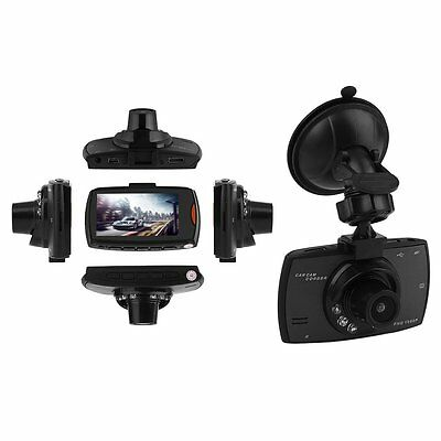 1080P HD LCD Dual Lens Car Dash Camera Video DVR Cam Recorder Night Vision LN