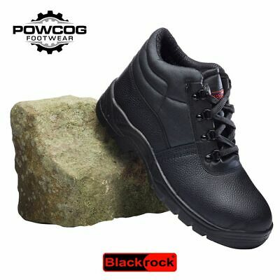 Blackrock Chukka Safety Work Boots Leather Steel Toe Cap & Midsole Size 3-13