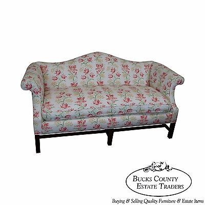 Antique Chippendale Style Mahogany Frame Sofa