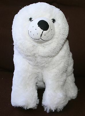 "Polar Bear Plush Stuffed Animal Eric Carle Kohls Cares 12"" CUTE SOFT"