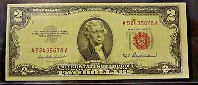 1953 A $2 United States Note Red Seal