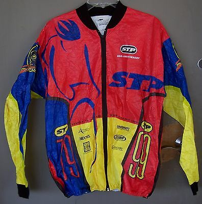 Very Rare!   STP anniversary 1979 - 1999   Windbreaker Jacket sz L Large