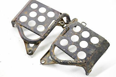 00 Yamaha Warrior 350 Heel Guard Footwells Left & Right YFM350X