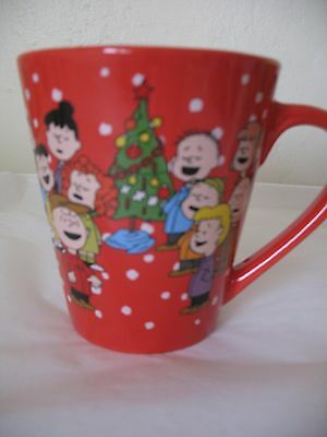 2016 Zaks Designs Peanuts A Charlie Brown Christmas Red Coffee Cup Mug