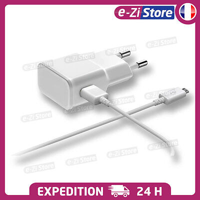 Chargeur Android Samsung S5 S6 S7 Lg Xperia Usb Lot Kit 2 En 1 Cable + Secteur