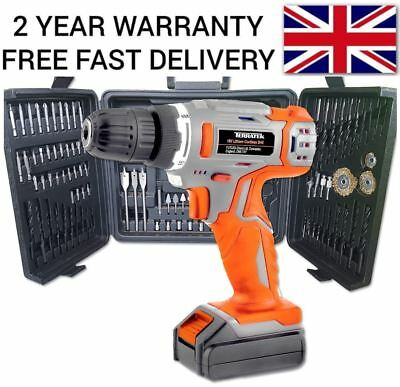 18V Cordless Combi Power Diy Drill Driver Electric Power Screwdriver