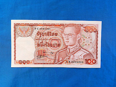 1978 Thailand 100 Baht Banknote *P-89a.8*    *XF*