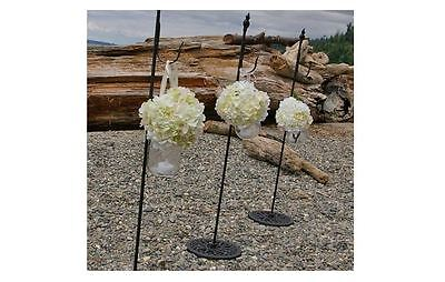 Wreath Stand, Free standing wreath stand, Shepards hook, Plant Hanger, Wedding