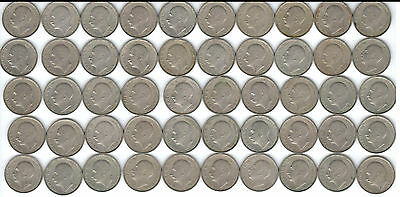 Lot of 50 Very Rare Bulgarian Coins of 20 Leva  from 1940 - The WWII Axis Era