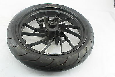 01-02 Yamaha Yzf R6 Oz Racing Straight Front Wheel Rim W Michelin Tire