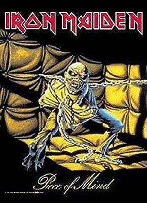 IRON MAIDEN - Piece Of Mind - Flagge Posterfahne Textilposter Flag #920102