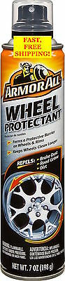 ARMOR ALL WHEEL & RIM PROTECTANT Repels Brake Dust, Road Grime & Dirt - 7 oz