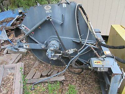 Skid Steer CTL Compact Track Loader Rock Saw Trencher Wheel Attachment Alitec