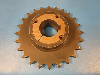 Martin 80BTB24, 2517, 80 Chain; 1 Strand; 24 Teeth, Taperbushed Sprocket