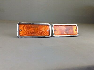 Ih International Scout Ii Travelall Turn Signal Marker Lights