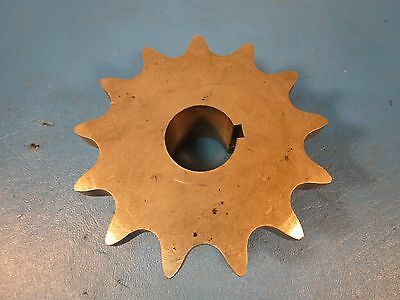 "Martin 80B13SS Stainless Steel Sprockets; 80 Chain; 13 Teeth 1 1/4"" Bore; Keyway"