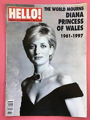 HELLO!  #474 September 6 1997 - Diana Princess Of Wales 1961-1997 Special Issue