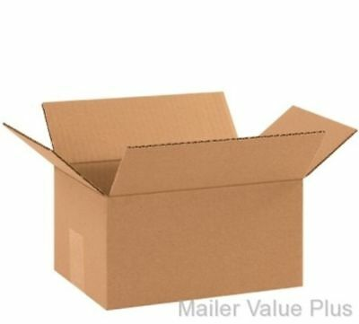 100 10 x 7 x 5 Shipping Boxes Packing Moving Cartons Cardboard Mailing Box