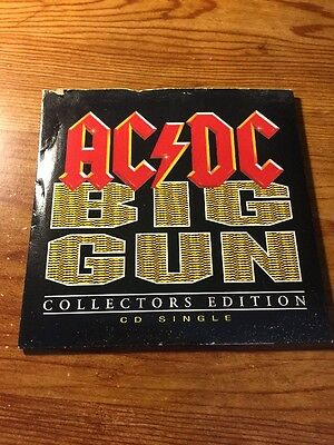 AC / DC Big Gun Single Collectors Edition CD