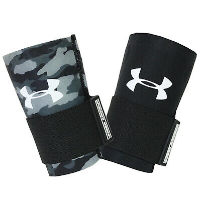 Under Armour Mens Reversible Arm Sleeve (1) With Wirst Strap Black Large X-Large
