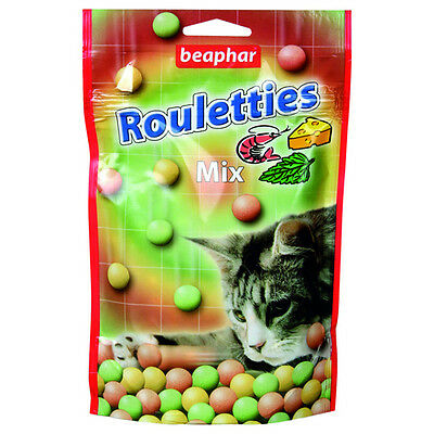 Beaphar Rouletties mélange, Snack pour chats, NEUF