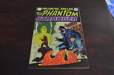 The Phantom Stranger #1 (May-Jun 1969, DC) VF 7.0 rare Neal Adams