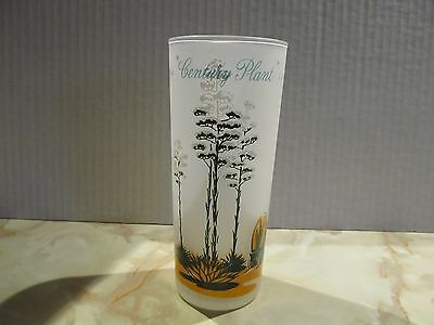 Vintage Collectible Blakely Oil & Gas Cactus Glass By Anchor Hocking